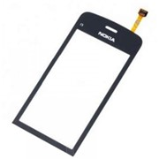 Тачскрин (сенсорное стекло) для Nokia C5-03 black orig фото