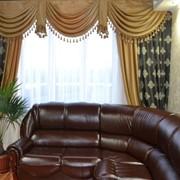 Пошив штор, гардин, ламбрекенов Индивидуальный заказ Зал фото