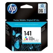 Картридж HP 141 Tri-color Original Ink Cartridge(CB337HE) фото