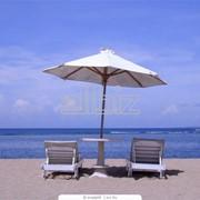 Летний отдых на берегу моря фото
