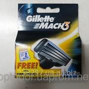 Картридж для бритвы Gillette Mach 3 - 2 шт. фото