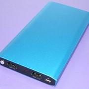Универсальный внешний аккумулятор Powerbank Racing C1202 12000mAh 5V 2A с цифровым дисплеем фото