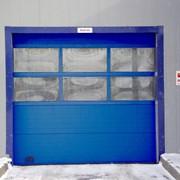 Конструкции гаражных и промышленных ворот фото
