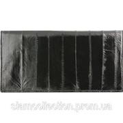 Кошелёк из кожи угря EELMS109-A Black фото
