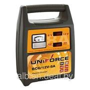 Устройство зарядное 6V-12V 8A 220V UNIFORCE BC 6/12V-8A фото