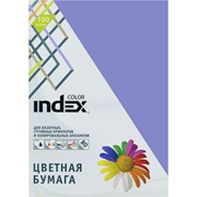 Бумага офисная Index Color, А4, 100 л, сиреневый, 80 г фото