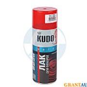 Лак KUDO тонировочный для фонарей красный 520мл фото