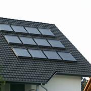 Солнечная водонагревательная система фото