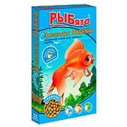 Золотая рыбка Корм РЫБЯТА для золотых рыбок 25г фото