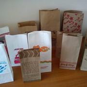 Изготовление бумажных пакетов фотография