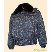 Куртка зимняя Снег-М (Барс оригинал) Цифра МВД ткань фото