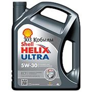 Моторное масло Shell Helix Ultra ECT C3 5W30 4л фото