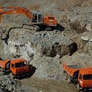 Добыча тальковой руды фото