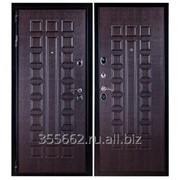 Дверь входная металлическая Премиум 3К Венге фото