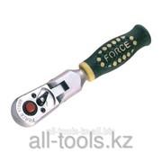 Трещотка с шарниром - 20 зуб L=125 мм 1/4 Код:802218 фото