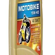 Масло мотоциклетное Ravenol Motobike 4-T Mineral 20w40 1l., 4л фото