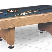 Бильярдный стол / пул Eliminator 8 ф (дуб) в комплекте, аксессуары фото