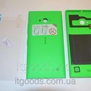 Крышка задняя зеленая для Nokia Lumia 730 + ПЛЕНКА В ПОДАРОК 3237 фото
