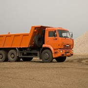 Доставка стройматериалов:песок,щебень,чернозем,керамзит фото