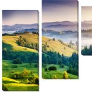 Модульная картина Холмы_2, Неизвестен фото