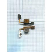 Разъем Micro USB для LG Optimus Sol E730 на шлейфе с кнопкой включения фото