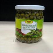 Горошек зеленый консервированный 1/сорт cт/б, 0,43 (твист) фото
