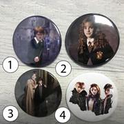 Значки Гарри Поттер, Harry Potter №1 фото