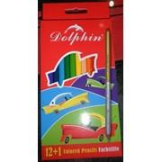 """Набор цветных карандашей """"Dolphin"""" фото"""