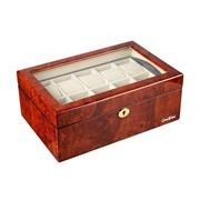 Шкатулка для хранения 10 часов Luxewood LW801-10-3 фото