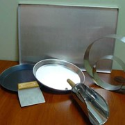 Инвентарь из нержавеющей стали для хлебопекарной и кондитерской промышленности фото