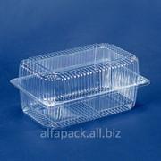 Упаковка блистерная АЛЬФА-ПАК ПС-120 прозрачная фото