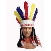 Индейская диадема цветная фото