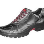 Обувь кожаная мужская 703-205-м-серый фото