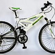 Велосипед горный MTB, Barracuda 1104, двухподвесный, 21 скорость. фото