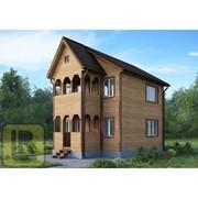 Дом из бруса Проект №35 (6х6) фото