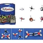Noname Набор для моделирования молекул (магнитный) (в комплекте молекулы Fe, Zn, Cu) арт. RN24762 фото