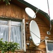 Установка антенны Дачник+ фото