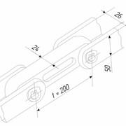 Цепи тяговые (цепь шлеппера) пластинчатые разборные со сплошными осями (валиками) применяются в качестве тягово-рабочего органа шлеппера для металлургических предприятий, горнодобывающей промышленности и химических заводов фото