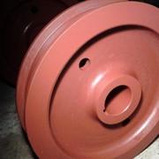 Колеса крановые К2Р диаметром 500 мм,710 мм. фото