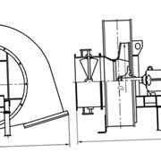 Вентилятор ВДН-20Х-1000 об/мин с ходовой частью фото