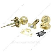Ручка - защелка межкомнатная FZB 15-25 BK PB (Золото) поворотник (кратно упаковке 20 шт) №326615 фото