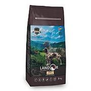 Landor 1кг Сухой корм для взрослых собак всех пород Ягненок и рис фото