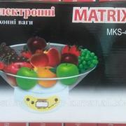 Кухонные весы с чашей matrix 401 фото