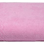 Простыня купальная махровая Plait (НЛ-5501-01933 1сорт цв. 128, 200х220, Розовый) фото