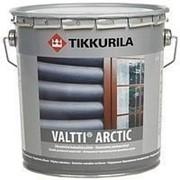 ТИККУРИЛА Валтти Арктик. Перламутровая фасадная лазурь для древесины 9л фото