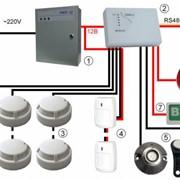 Монтаж и наладка систем противопожарной автоматики фото