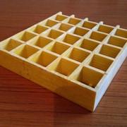 Стеклопластиковые решетки 3660*1220 мм, ячейка 38*38*38мм. фото