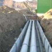 Проектирование наружных тепловых сетей (ПИ-трубы, гибкие ПИ-трубы) и внутренних систем отопления и водоснабжения. фото
