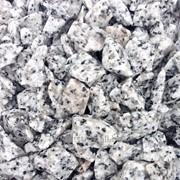 Крошка мраморная черная с белым фото