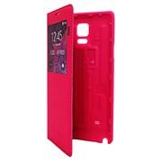 Чехол-книжка для Samsung Galaxy Note 4. розовая фото